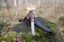 Нож с всечкой